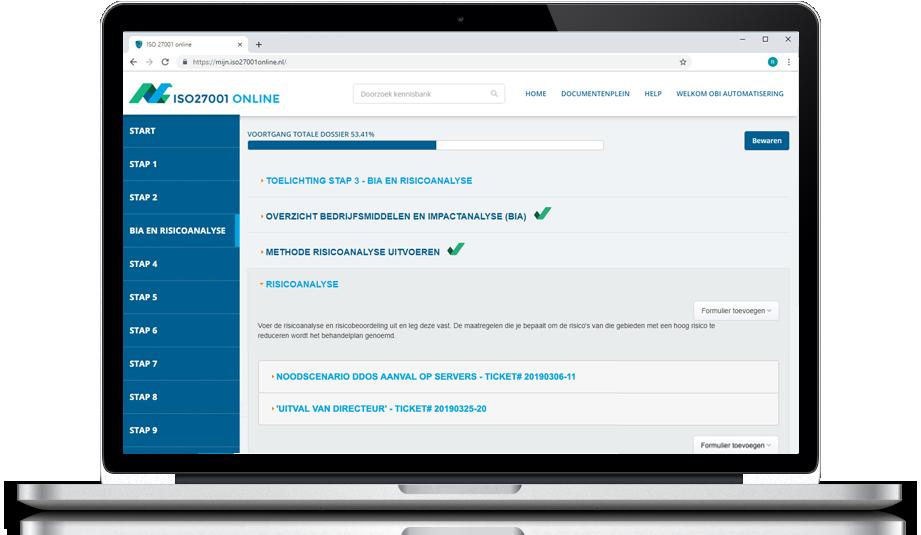 ISO 27001 Online